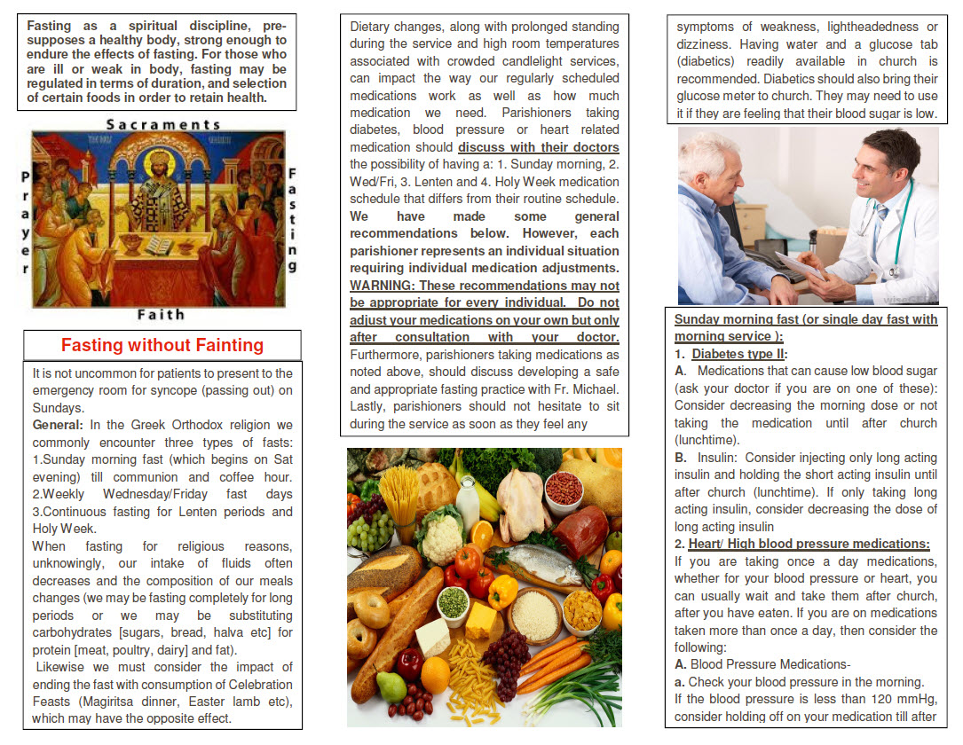 PDF: Medical Tips for Fasting